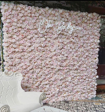 Celestial Flower Wall