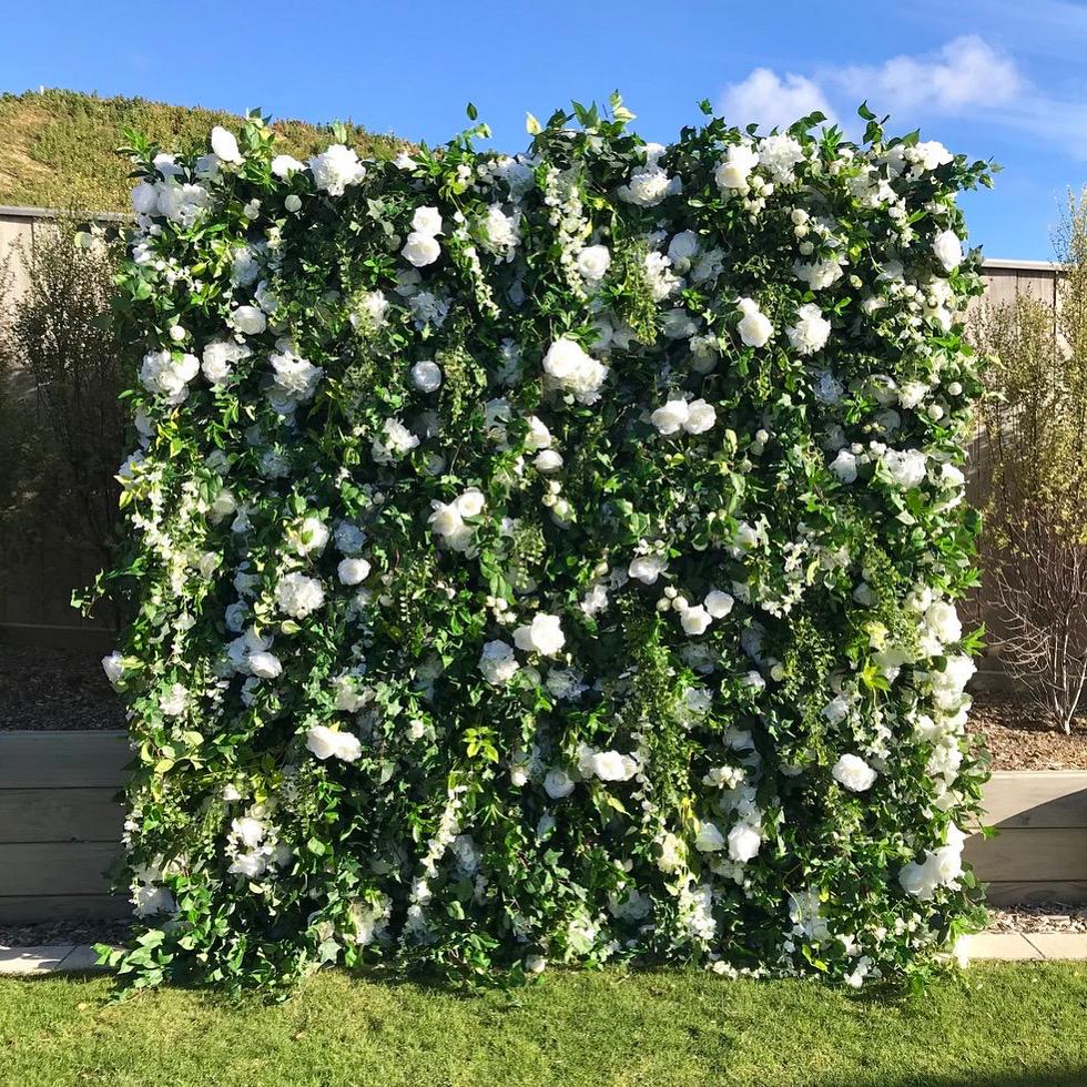 Garden Flower Wall