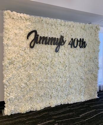 Kimberly Flower Wall