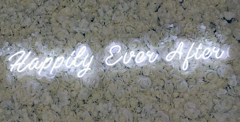 Wedding neon sign rental dallas