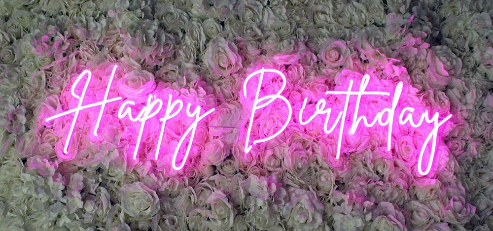 birthday neon signs dallas