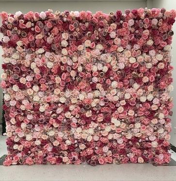 Dallas Flower Wall
